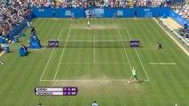 WTA Eastbourne: Wozniacki bt. Giorgi (6-7 6-4 6-2)