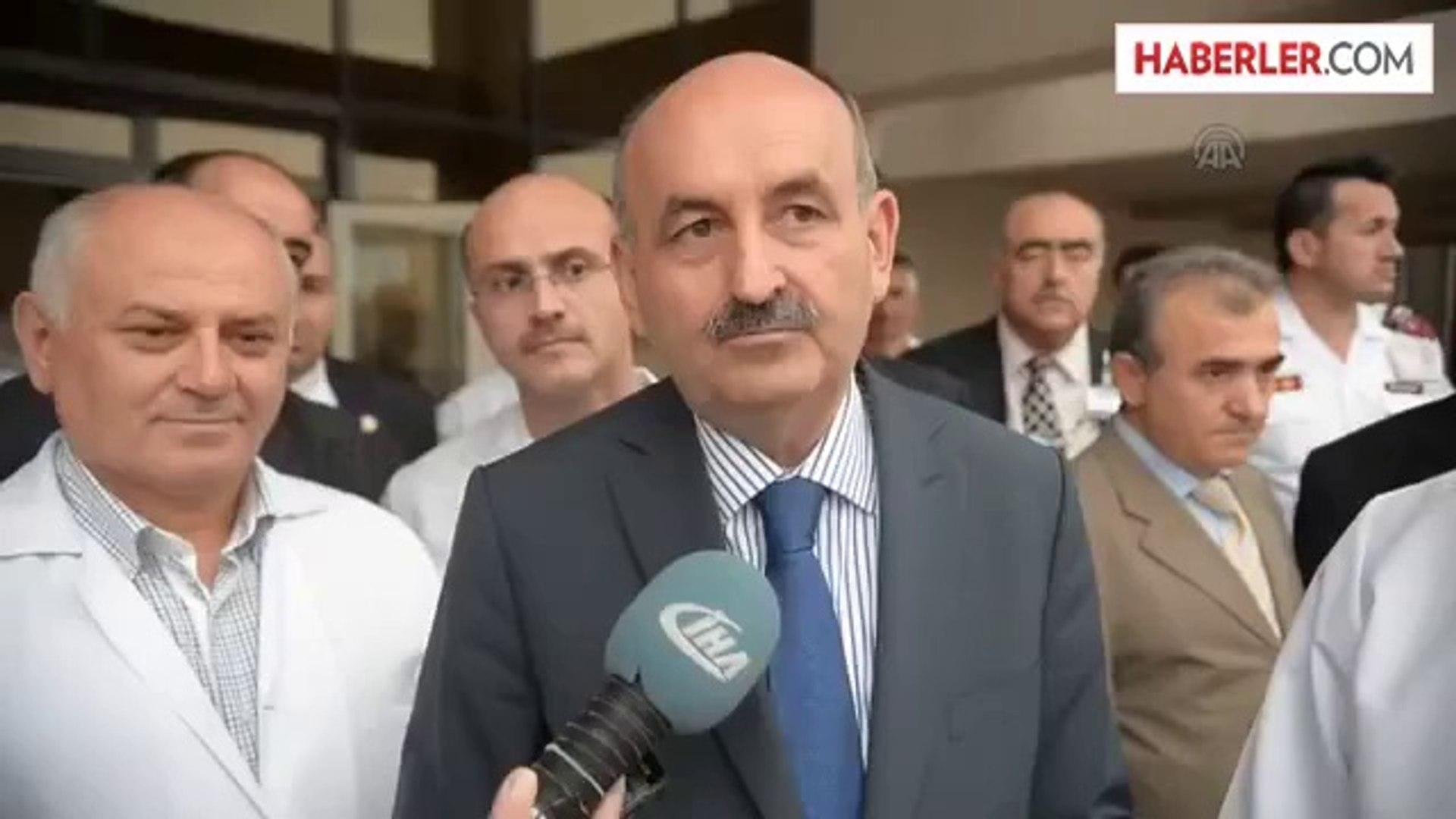 Bakan Elvan'ın sağlık durumu: Sağlık Bakanı Müezzinoğlu -