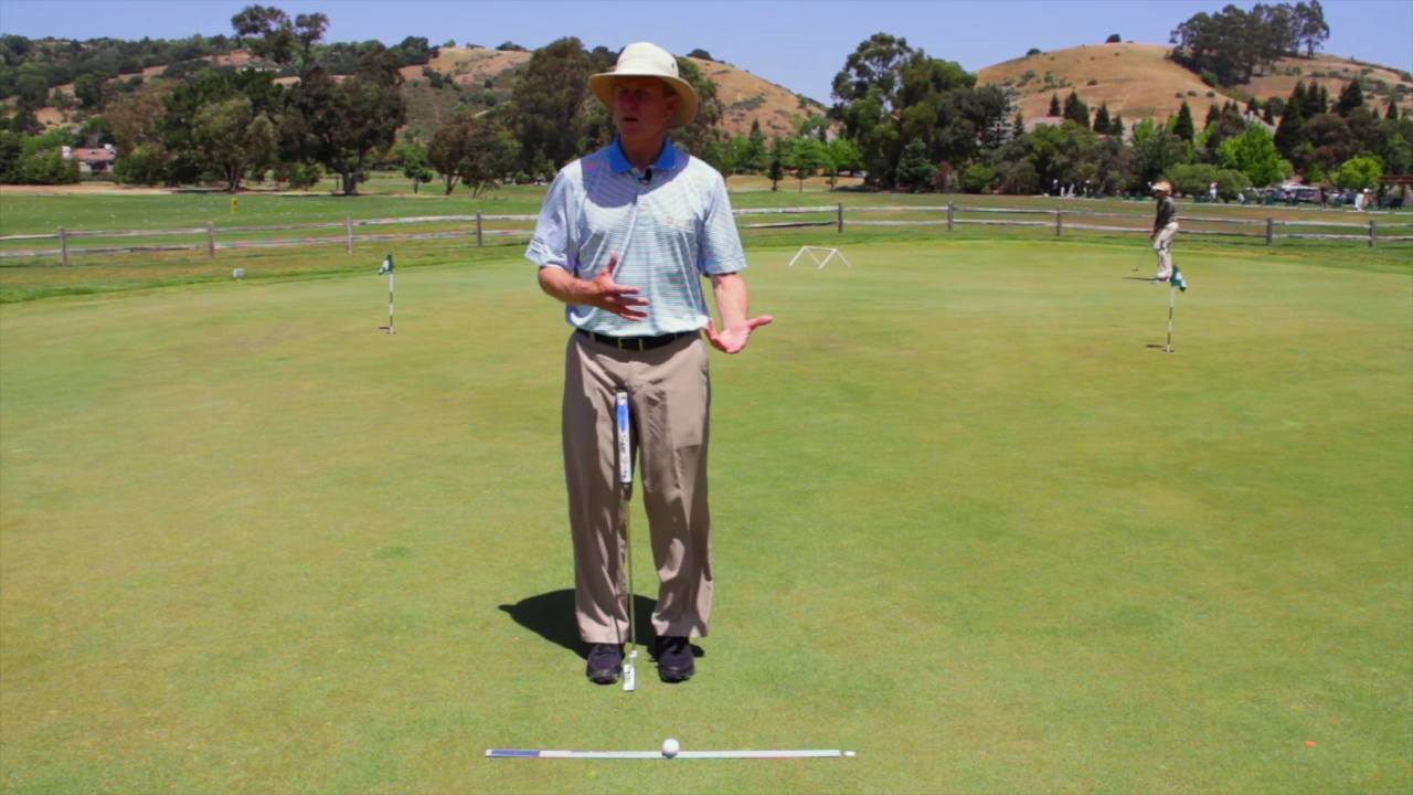 Putting Practice Drill by John Grund – Hitting the ball end over end for more accurate putting