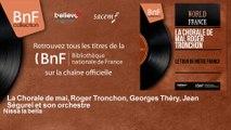 La Chorale de mai, Roger Tronchon, Georges Théry, Jean Ségurel et son orchestre - Nissa la bella