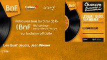 Les Quat' Jeudis, Jean Wiener - L'iris