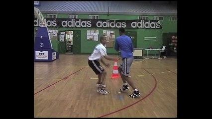 Boris Diaw et Tony Parker à l'INSEP à la fin des années 90