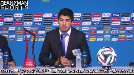 World Cup 2014 - Luis Suarez Says 'It Has Been Like A Dream' To Win Against England
