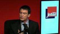"""Manuel Valls : """"Depuis le début, je n'ai pas compris le sens de cette grève"""""""
