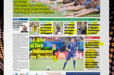 CALCIOINFO - Rassegna stampa 20-06-2014