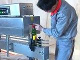 Máy rút màng co nắp chai, thân chai, máy rút màng co chai nhựa chai thủy tinh, máy rút màng co chai