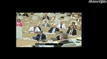 Bruno Gollnisch (FN) dénonce la gestion de l'UE