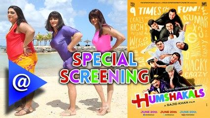 Special screening of 'Humshakals' at Lightbox - AtBollywood