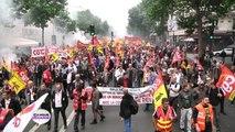 Grève SNCF : la lutte des cheminots continue à Paris