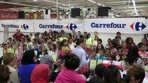 MAUBEUGE: les écoliers chantent pour fêter la musique