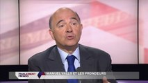 Budget rectificatif 2014 : Pierre Moscovici convaincu que Valls aura la majorité