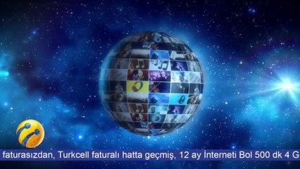 Turkcell Faturalıya Gelene İnterneti Bol Paket