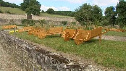 « Les Traversées » à l'abbaye de Noirlac dans le Cher