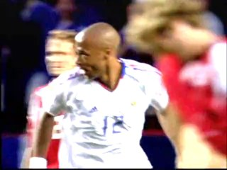 Switzerland 1 France 3 - Group B (21st June 2004) - EURO 2004