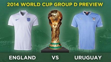 İNGİLTERE v URUGUAY - 2014 Dünya Kupası D Grubu | Genel Bakış