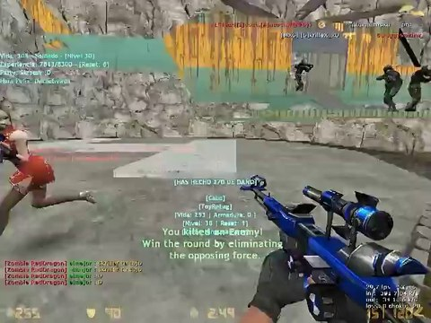 Zombie Escape Niveles Mexico + Resets - Counter Strike 1.6 2014