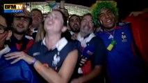 Mondial 2014: les supporters français chantent la Marseillaise après la victoire des Bleus - 20/06