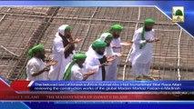 News 12 June - Shahzada e Attar Haji Bilal Raza Attari visting Faizan e Madina Badul Madina to Review constructions (1)