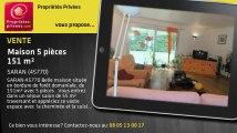 A vendre - maison - SARAN (45770) - 5 pièces - 151m²