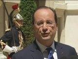 Football: François Hollande affiche sa fierté après la victoire des Bleus contre la Suisse - 21/06