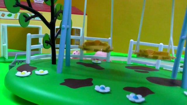 Peppa Pig Supermarket Playset [Peppa pig shopping Toys Episode]