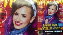 Demi Lovato Covers Seventeen Magazine With Colorful Hair