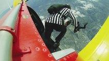 Nouveau sport de l'extrême : la baston en chute libre