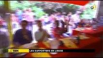 2014/06/20 18h58 Jt RFO ► 2ème Victoire Équipe FRANCE 5-2 SUISSE Coupe du Monde Football 2014 FIFA World-Cup Brésil Engouement Fans Antilles Guyane Extrait Journal Information Martinique Outre-Mer 1ère France Télévision Vendredi 20 Juin 2014