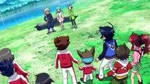 Inazuma Eleven GO VS Danball Senki W Parte 4 sub español