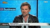 France Digitale: comment dénicher les champions de demain ?: Olivier Mathiot et Jean Bourcereau, dans 01Business - 21/06 3/4