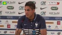 Mondial 2014. Raphaël Varane: « Ça nous a surpris... »