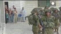 Mueren dos palestinos en la operación de búsqueda de los israelíes desaparecidos