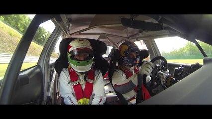 Carlos Tavares au volant de la Citroën C-Elysée WTCC !