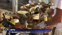 Descente dans la grotte Chauvet, nouveau patrimoine mondial