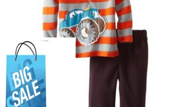 Cheap Deals Watch Me Grow! by Sesame Street Baby-boys NB Monster Truck Pullover and Pant Review