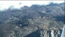 VIDEO  Réunion : le volcan du Piton de la Fournaise se calme après 24 heures d'activité