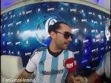 Gonzalo Heredia en Bar Quilmes Previa Argentina-Iran Mundial 2014