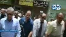 محافظ المنيا ومدير الأمن يشرفان على حملات إزالة التعديات على الأراضي الزراعية ورفع الإشغالات
