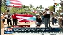 Marchan en Puerto Rico para liberarse del colonialismo de EE.UU.