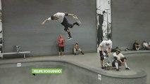 Pedro Barros & Felipe Foughino Skate Session - Skateboard