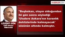 CHP Ankara Milletvekili Gök Açıklaması
