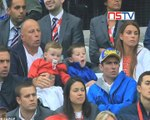 Coleen Rooney broke down in tears after watching Wayne