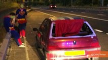 Police Pull Over Supermen Driving With Flapping Car Cape