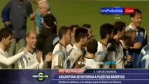 Imitador de Ronaldinho ovaciona a Messi - Mundial Brasil 2014