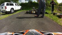 Entrainement Karting - Circuit Pers (Cantal) le 10.05.14
