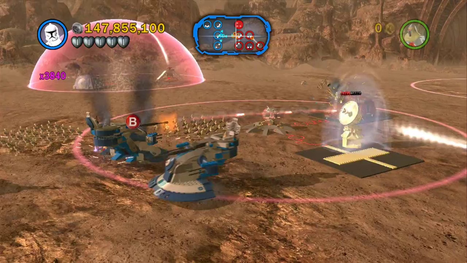 LEGO Star Wars III  The Clone Wars - 100% Guide #6 - Weapons Factory (All Minikits)