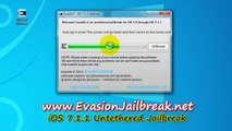 Evasion iOS 7.1.1 Untethered Jailbreak outil pour l'iPhone 5 , iPhone 4, iPhone 3GS , iPad3