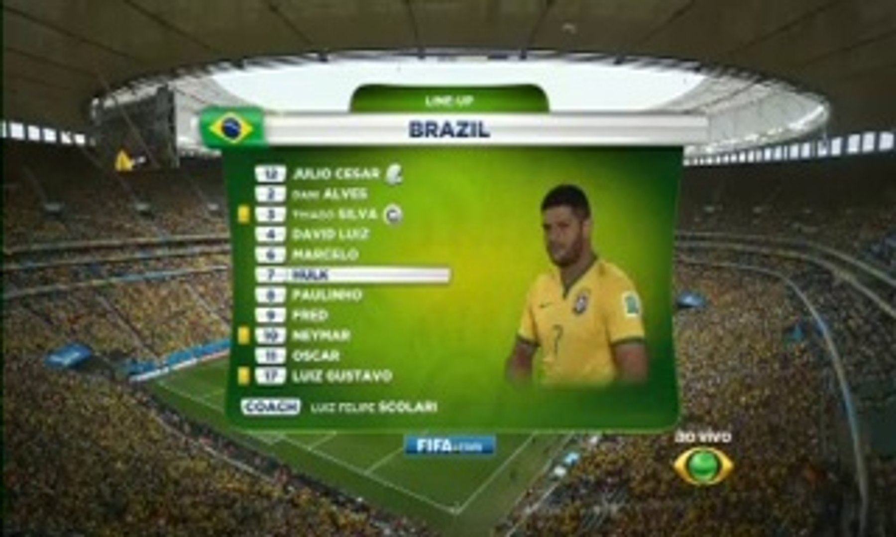 Seleção Brasileira BAND 2014-06-23 16h58m46s