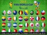 Watch FIFA World Cup 2014 JAPAN VS COLOMBIA LIVE Streaming Online