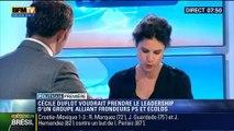 Politique Première: Cécile Duflot veut prendre le leadership d'un groupe alliant frondeurs PS et Ecolos - 24/06